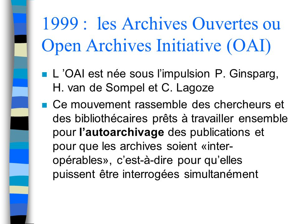 Quels documents autoarchiver.