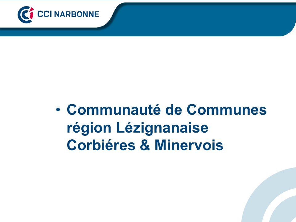 Communauté de Communes région Lézignanaise Corbiéres & Minervois