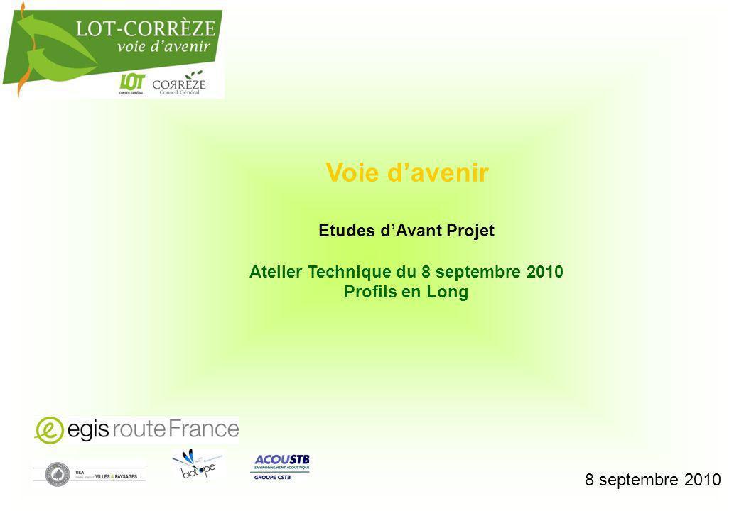 Etude AVP : Opération Lot Corrèze – Voie davenir 2 Remblais 13 m 500 m Remblais 16 m 500 m Déblais 30 m 450 m Déblais 15 m 150 m 137 m 296 m 265 m 324 m 315 m A - RD720 H I J K TRACE T2 / T2-1 : Partie commune 6 % 1 600 m 6 % 300 m 6 % 300 m 6 % 300 m Partie commune T2 seul 260 m 7.3 km