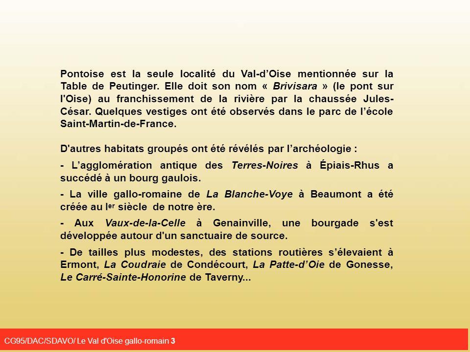 CG95/DAC/SDAVO/ Le Val d Oise gallo-romain 4