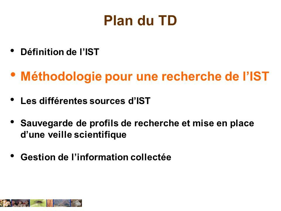 Identifier les sources à interroger (exo TD) Parmi les ressources documentaires accessibles à MontpellierSupAgro et sur le web, quelles bases de données bibliographiques devrez-vous interroger pour trouver des informations sur votre sujet de controverse .