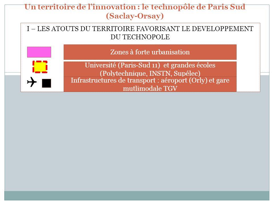 Un territoire de linnovation : le technopôle de Paris Sud (Saclay-Orsay)