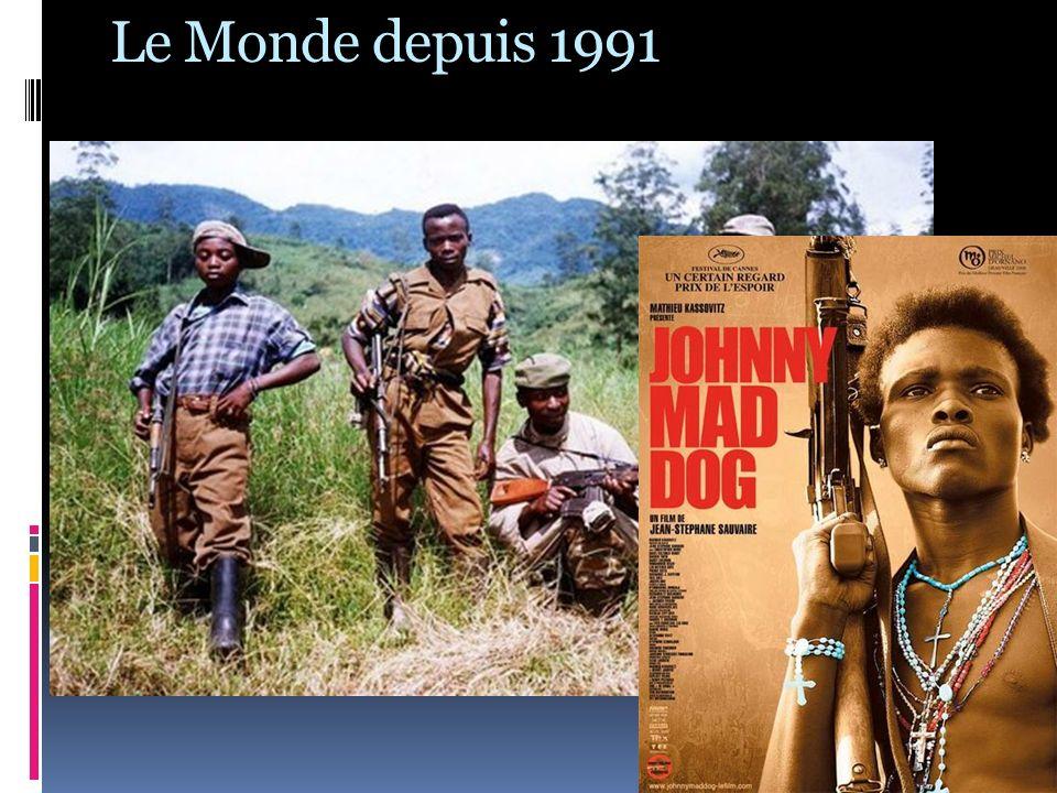 Le Monde depuis 1991 SCHEMA DE LORGANISATION DU MONDE A PARTIR DE 2001 Multipolarisme (des puissances de différentes tailles / gestion des conflits par le dialogue