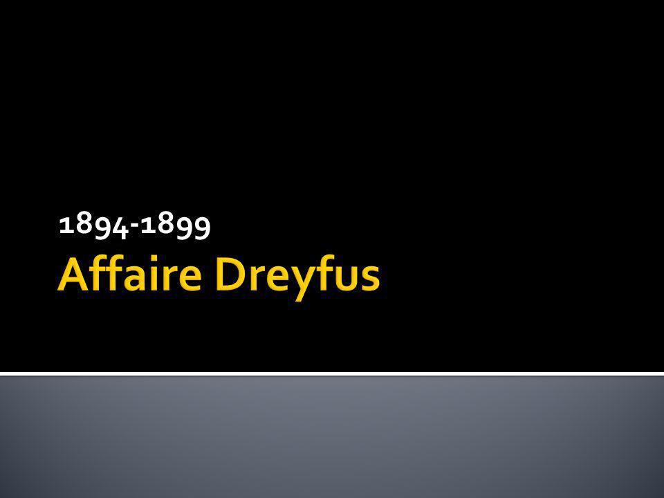 Affaire Dreyfus (1894-1902) Canon de 120 mm Calibre : 120. Longueur : 3 m 25 3 coups par minute
