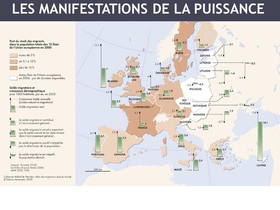 LES MANIFESTATIONS DE LA PUISSANCE