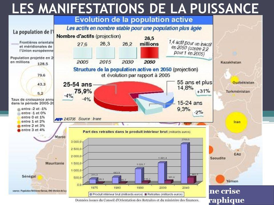 LES MANIFESTATIONS DE LA PUISSANCE UE : une crise démographique