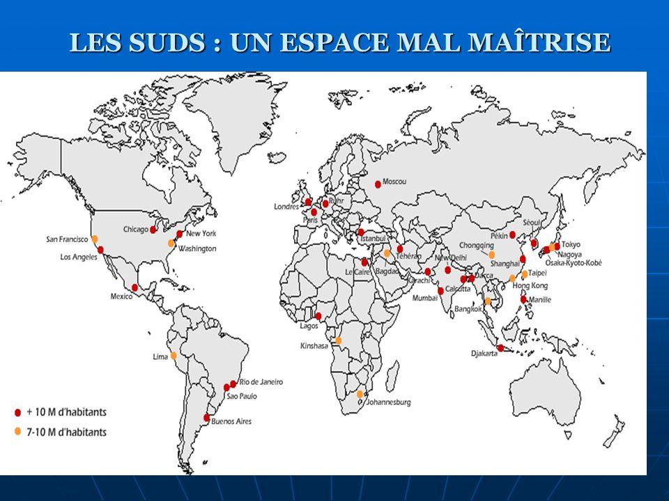 Les pays émergents LES PAYS CONTINENTS Brésil Chine Inde LES NPI Les tigres Les jaguars (Chili, Brésil, Argentine…) NPI dAfrique : Tunisie, Ile Maurice, Afrique du Sud