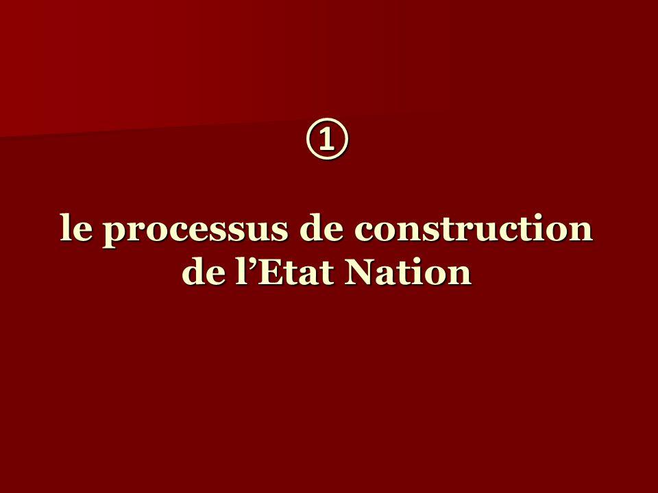le processus de construction de lEtat Nation