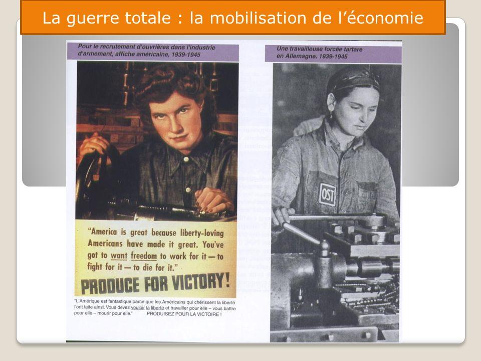 La guerre totale : la mobilisation de léconomie