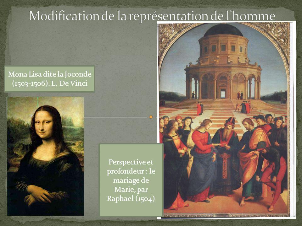 Mona Lisa dite la Joconde (1503-1506).L.
