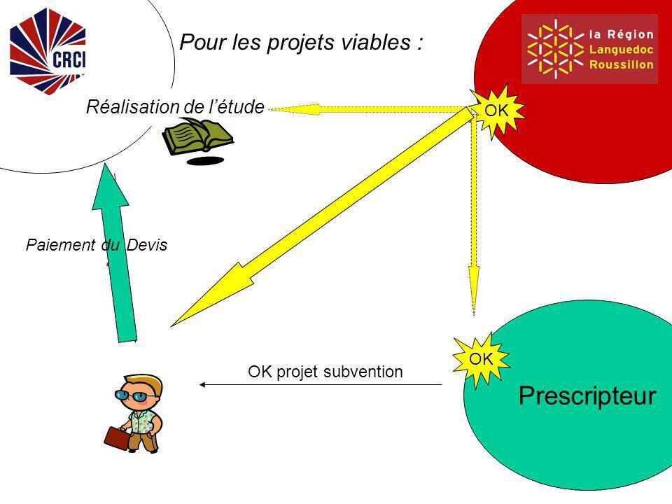 Prescripteur . Le projet global – la faisabilité Subvention .