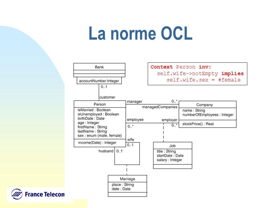 Univers@lis: Un référentiel dinstances générique http://universalis.elibel.tm.fr/ - Support opérationnel dun modèle objet (par la production automatique de la hiérarchie de classes associée).