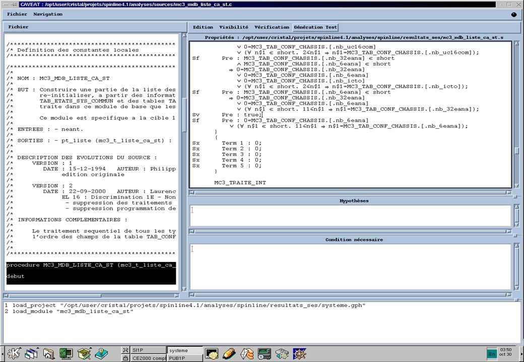 19 - A. OURGHANLIAN Les outils d analyse sémantique de code Club SEE « Systèmes Informatiques de Confiance ». Le 31/01/02