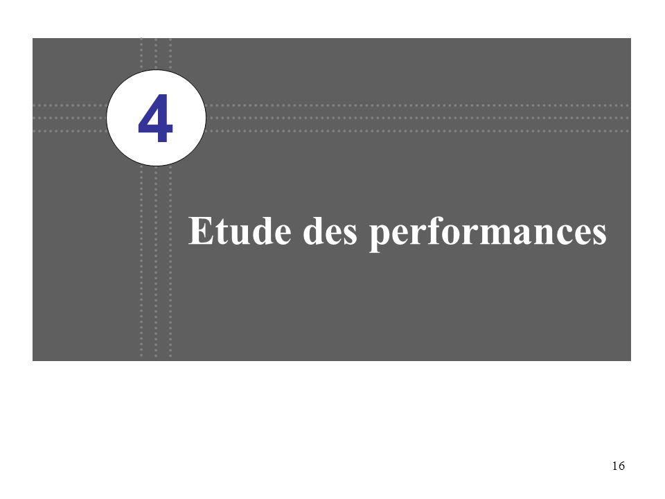 16 Etude des performances 4