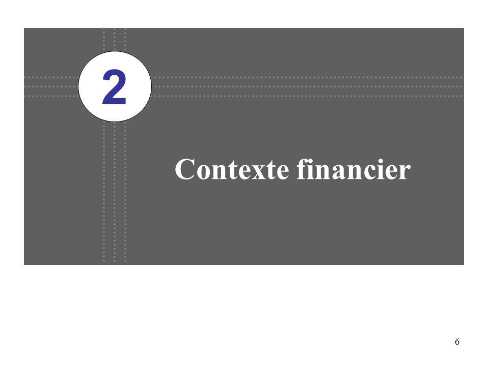 6 Contexte financier 2