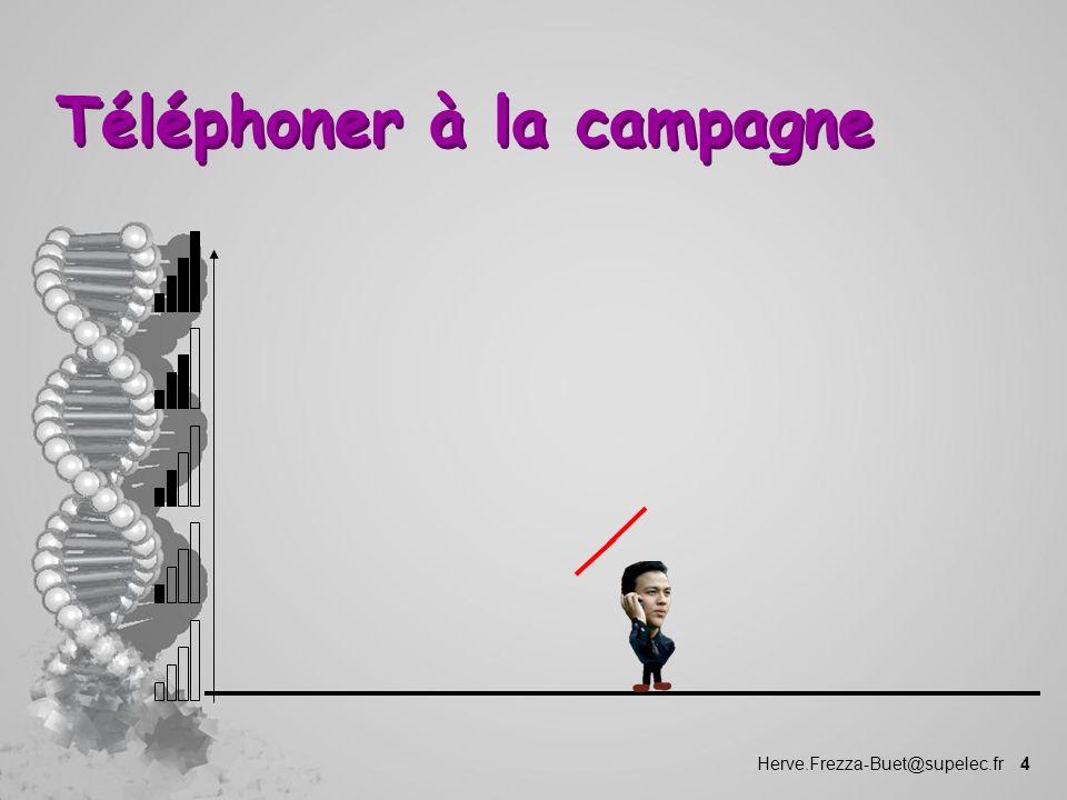 Herve.Frezza-Buet@supelec.fr 4 Téléphoner à la campagne