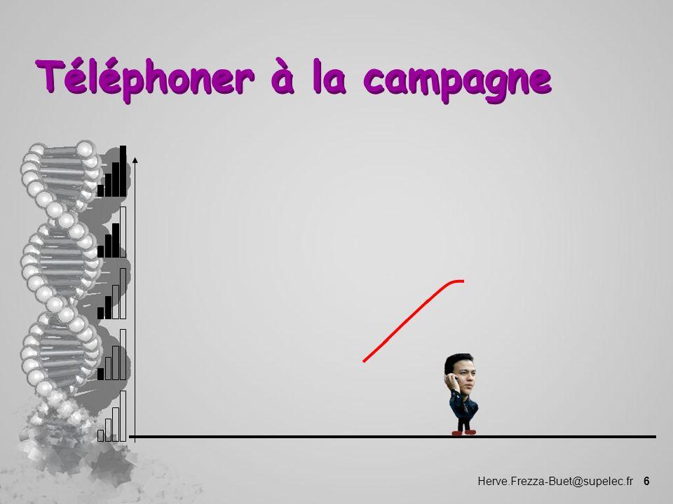 Herve.Frezza-Buet@supelec.fr 6 Téléphoner à la campagne