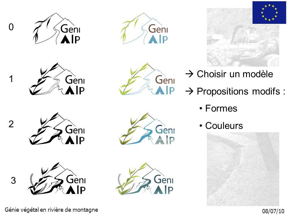 08/07/10 Génie végétal en rivière de montagne ReWer Bandeau Photos et logo Couleur Choix : n°1