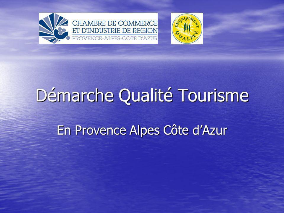 Démarche Qualité Tourisme En Provence Alpes Côte dAzur