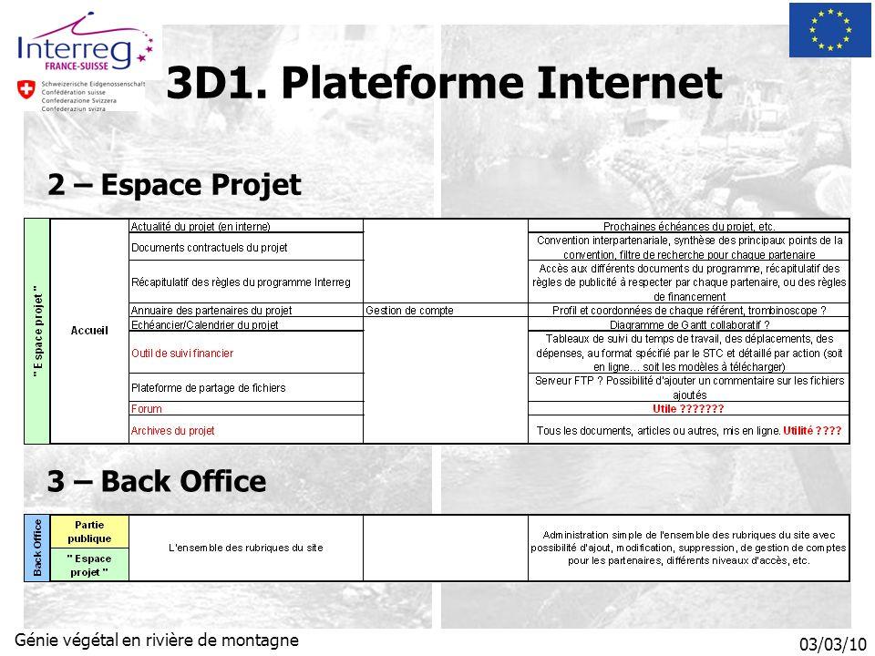 03/03/10 Génie végétal en rivière de montagne 2 – Espace Projet 3D1.