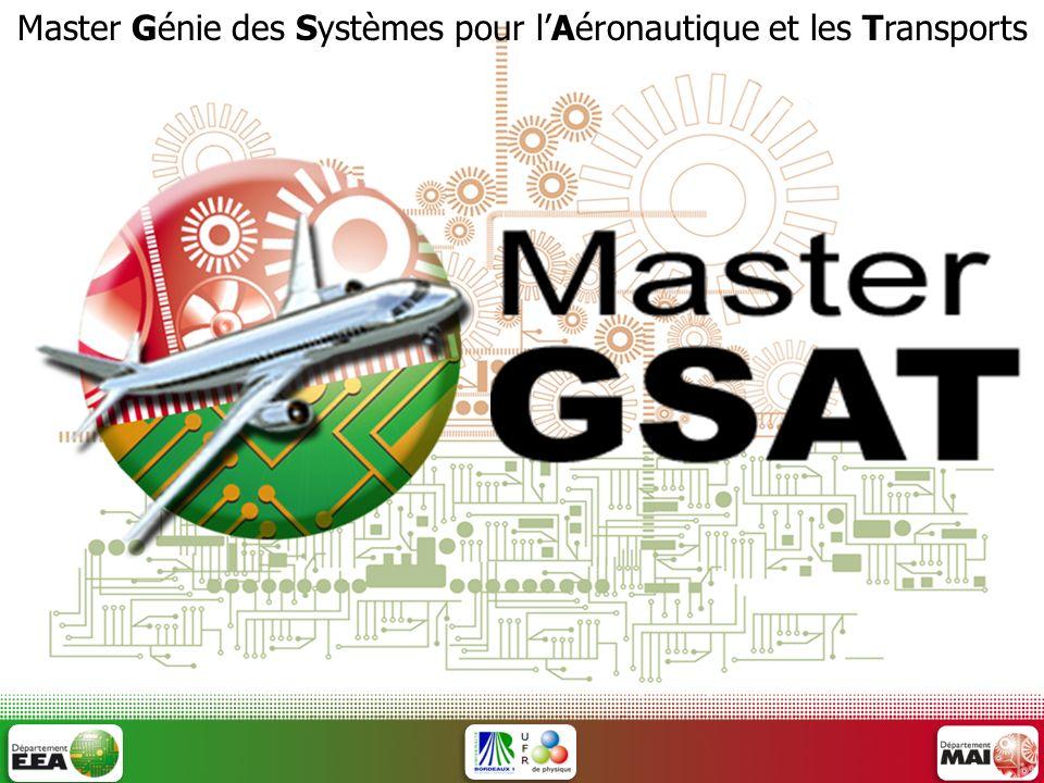Master Génie des Systèmes pour lAéronautique et les Transports