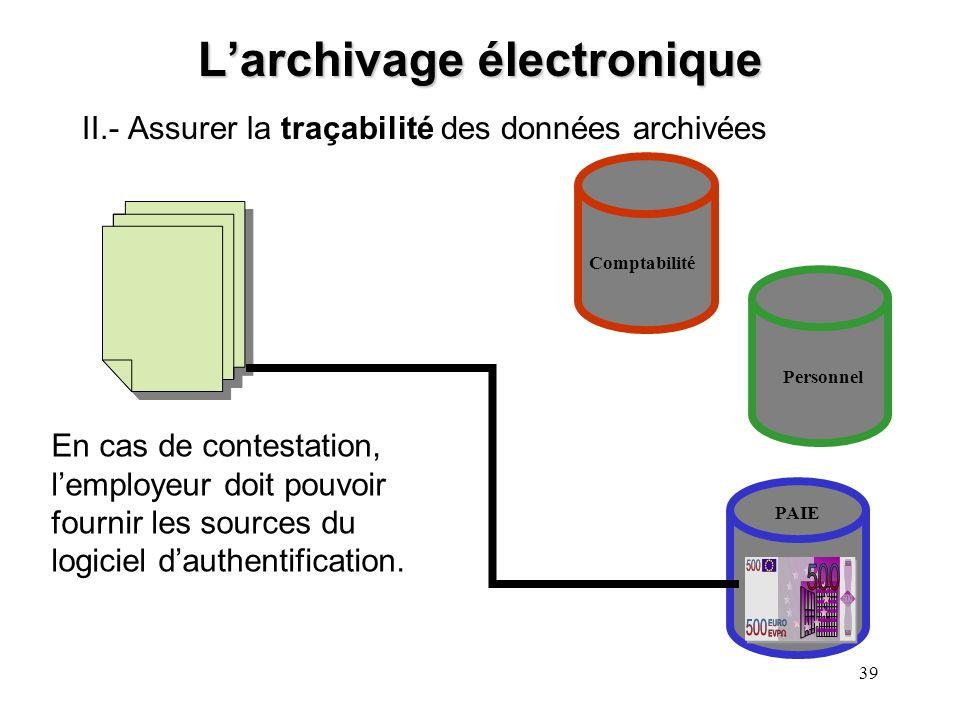 38 Larchivage électronique La preuve informatique en matière disciplinaire Début de téléchargements de MP3 Découverte de faute 1/2/012/5/019/5/01 Pour