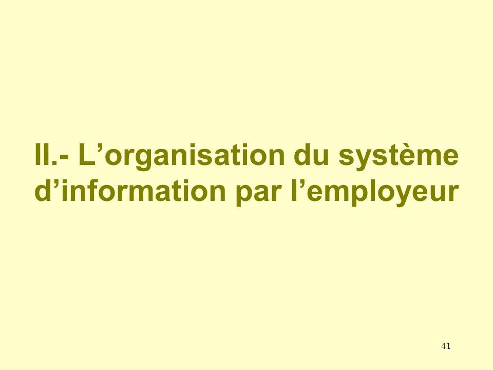 40 Larchivage électronique III.- Assurer la sécurité des données archivées Comptabilité Personnel PAIE « Toute personne ordonnant ou effectuant un tra