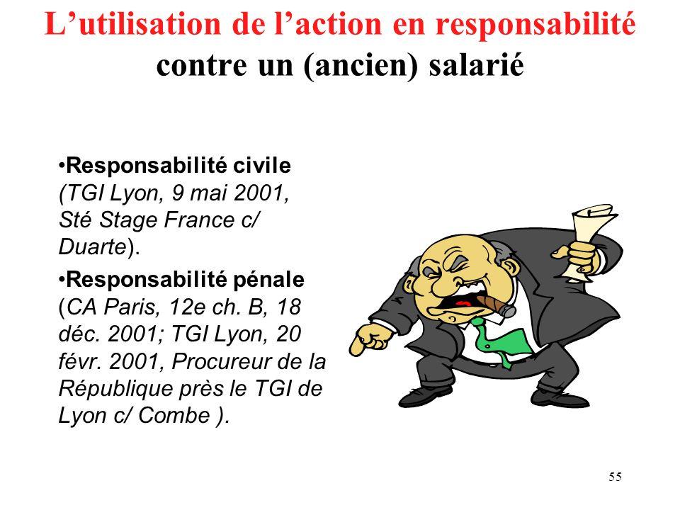 54 Lutilisation du pouvoir disciplinaire en raison de lusage (abusif ?) du téléphone, du minitel, de la messagerie ou du netsurf