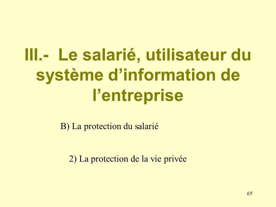 64 Irrecevabilité de la preuve produite par lemployeur en raison de labsence de déclaration du dispositif (CA Paris, 7 mars 1997 ; CA Paris, 18e ch.,