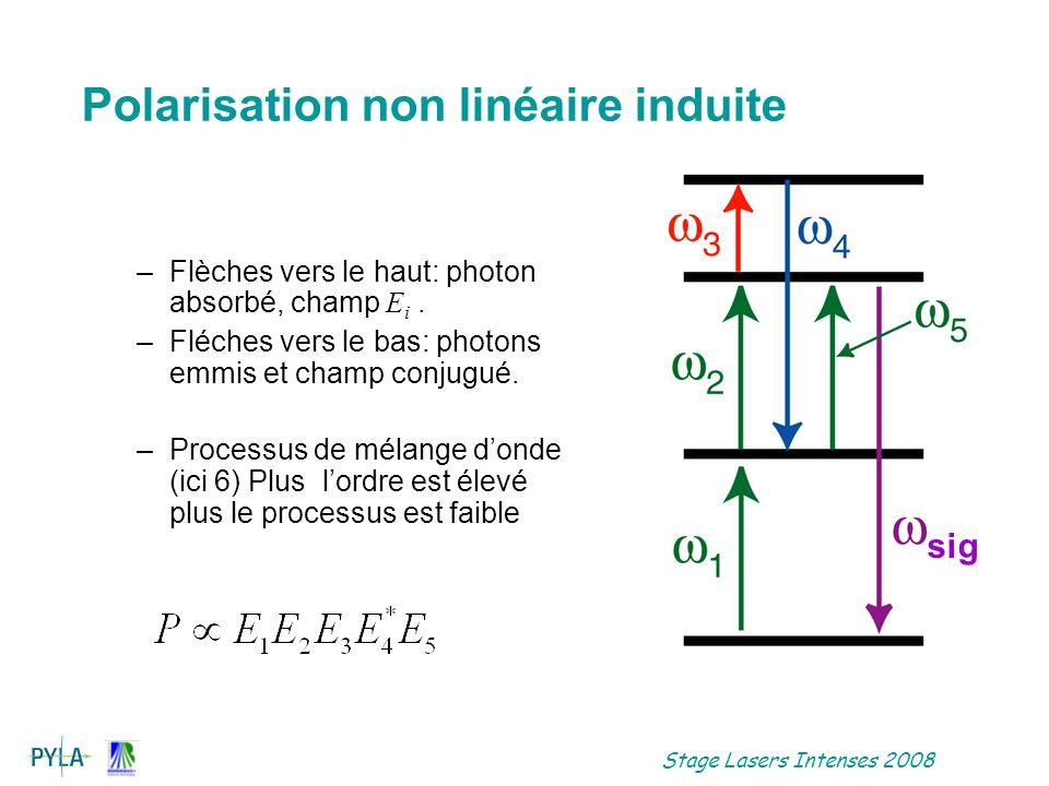 Stage Lasers Intenses 2008 Malheureusement, peut ne pas correspondre à un faisceau de fréquence sig .