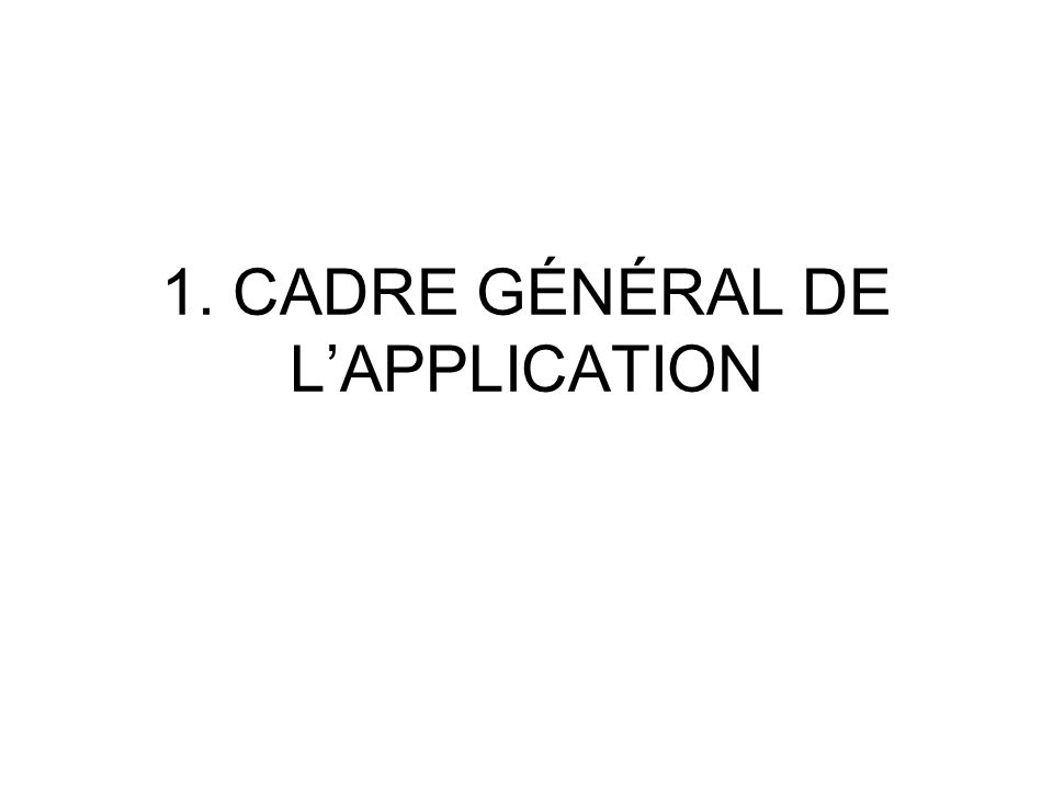 2. EXEMPLES DAPPLICATIONS DU DÉVELOPPEMENT DURABLE