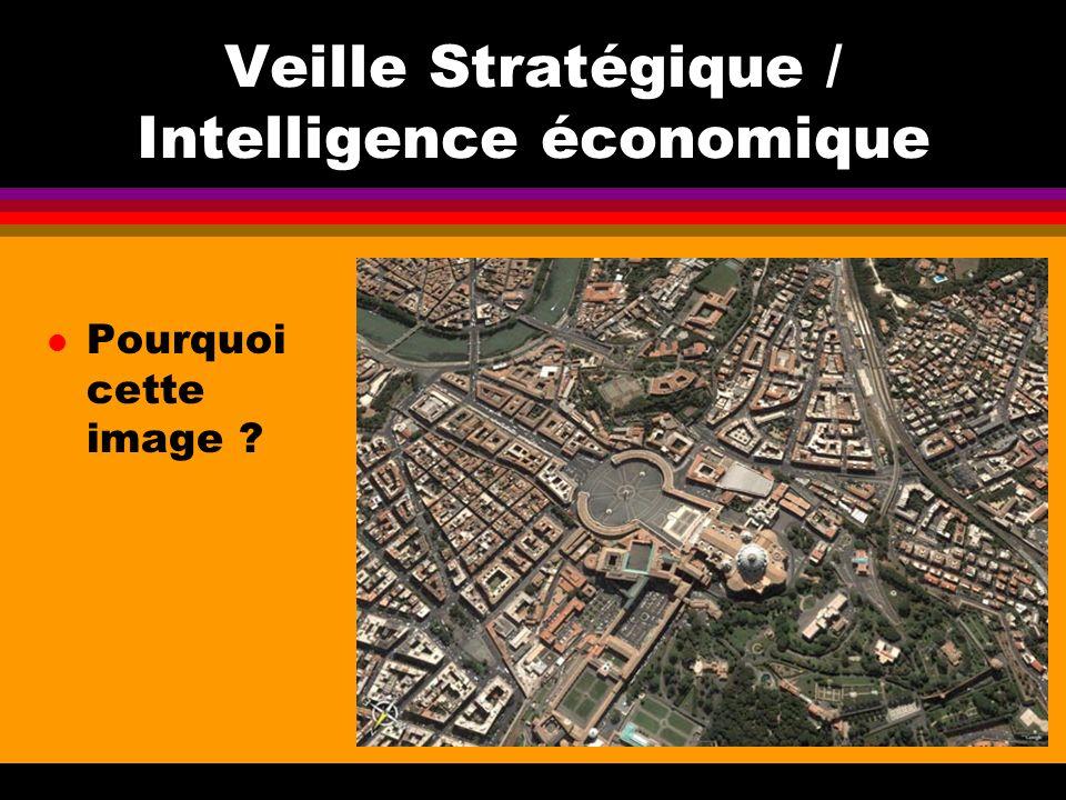 Veille Stratégique / Intelligence économique l Pourquoi cette image ?