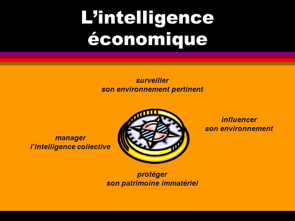 Lintelligence économique surveiller son environnement pertinent manager lintelligence collective influencer son environnement protéger son patrimoine