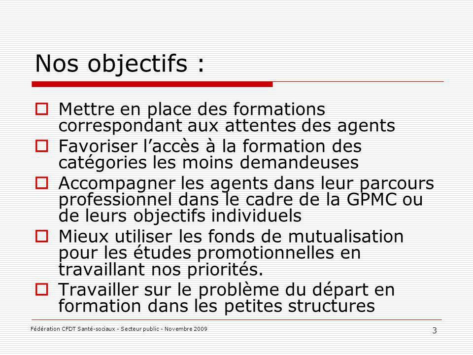 Les droits des agents : VAE Diplômes prioritaires 14 Fédération CFDT Santé-sociaux - Secteur public - Novembre 2009