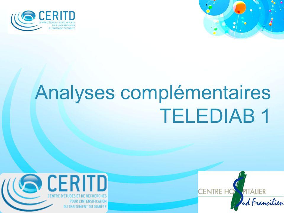 Analyses complémentaires TELEDIAB 1