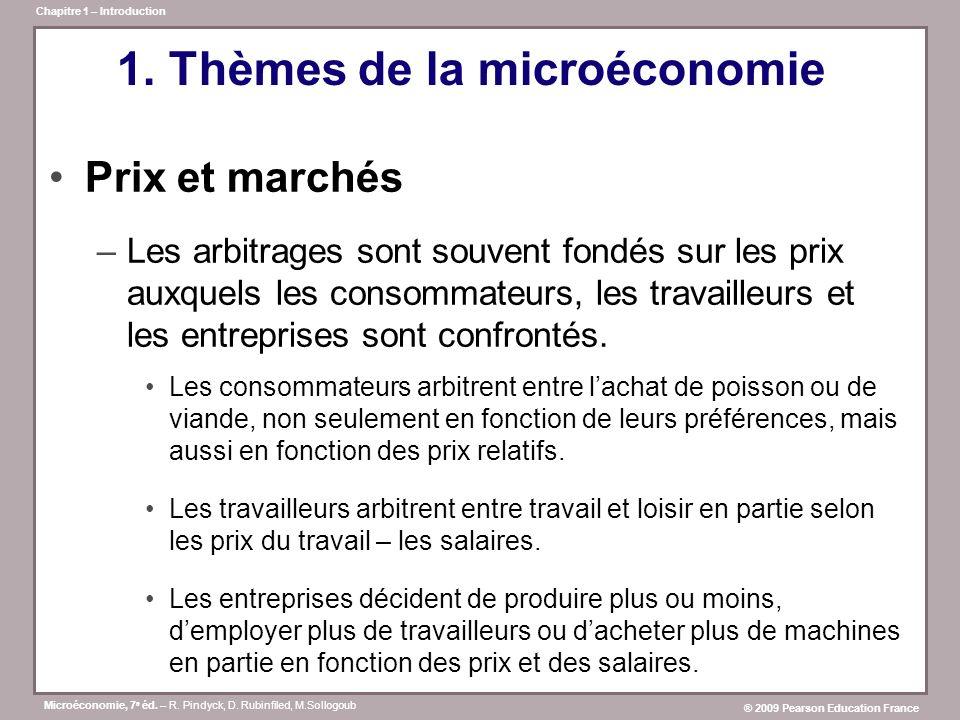 Microéconomie, 7 e éd.– R. Pindyck, D.