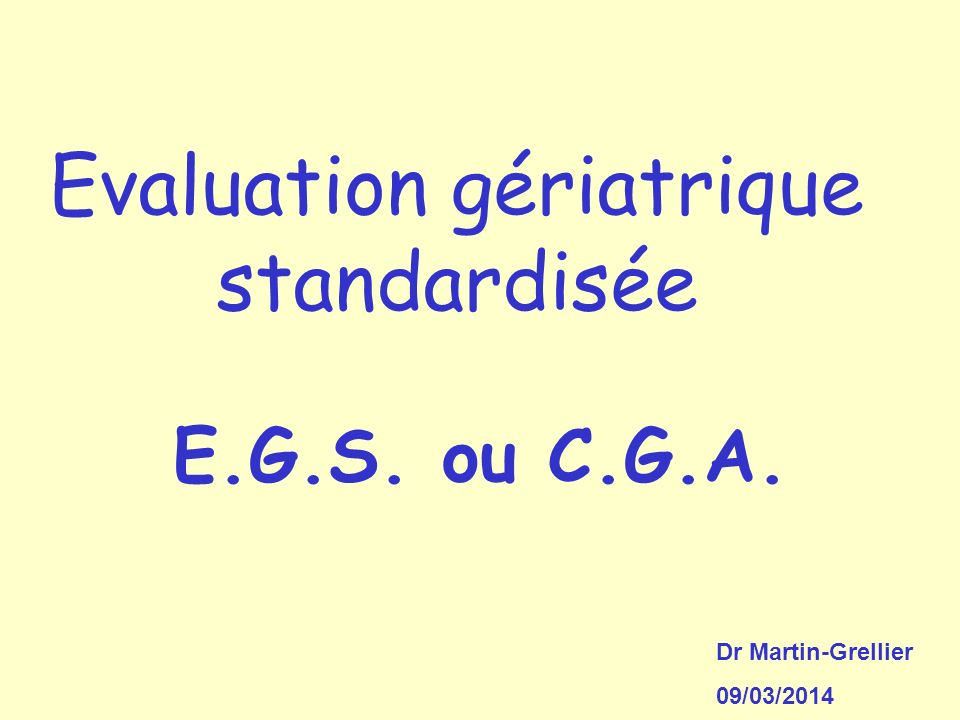 2.1 Réalisation dune EGS Comment fait-on .
