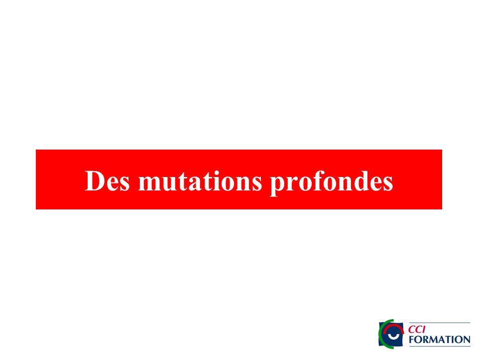 Des mutations profondes