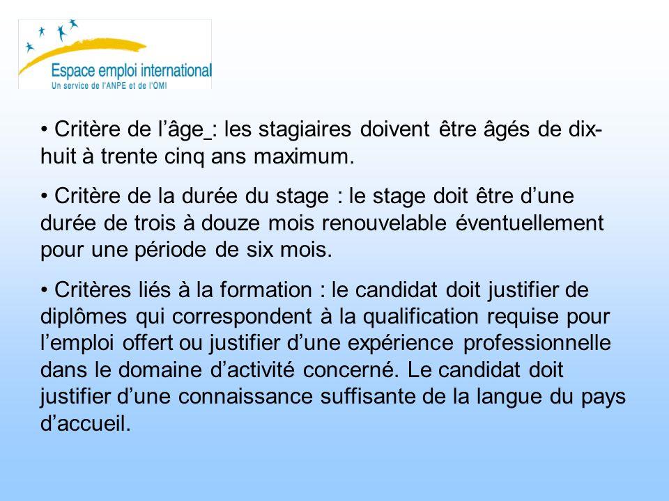 2 : Stages et contrats de travail.