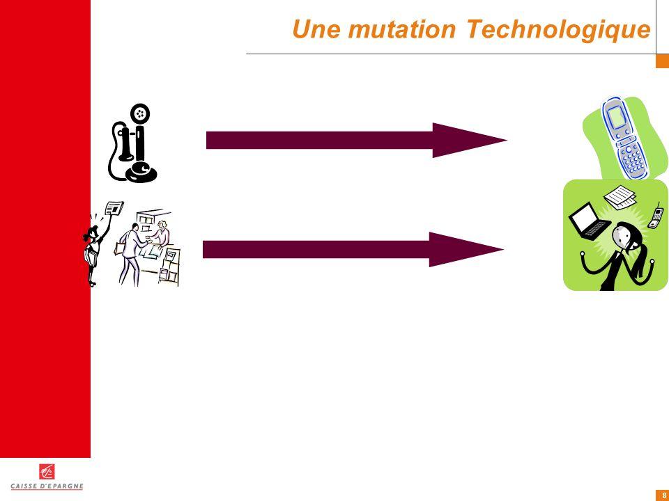8 Une mutation Technologique
