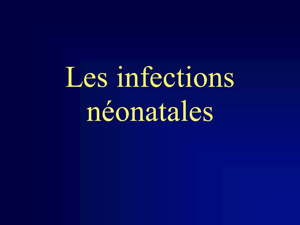 Infections materno-fœtales Clinique Aucun signe n est constant ni spécifique fièvre tachycardie détresse respiratoire
