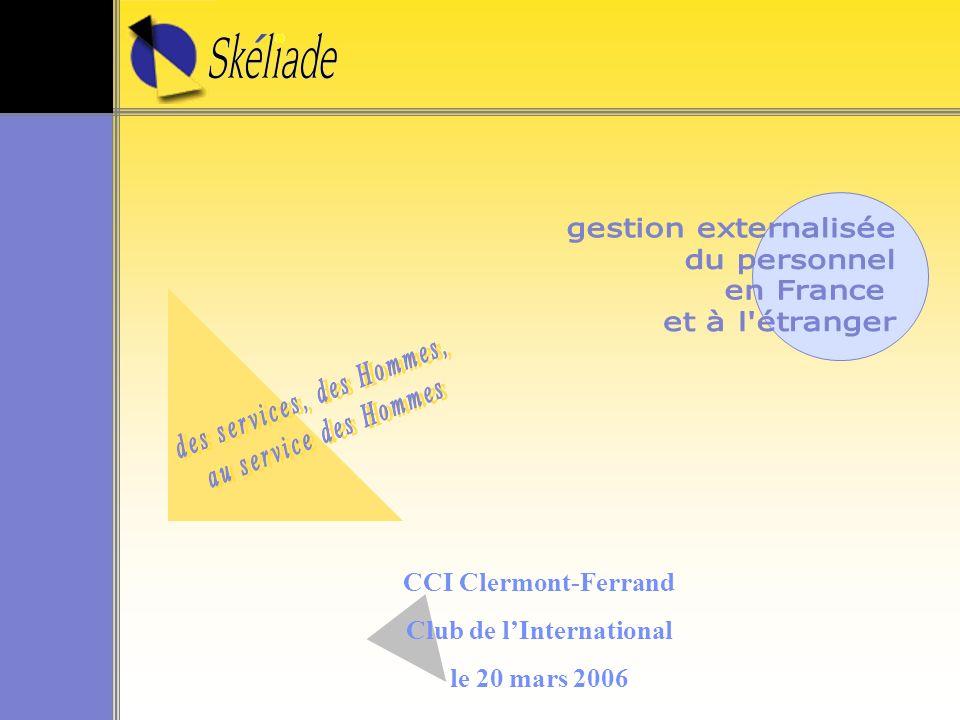 CCI Clermont-Ferrand Club de lInternational le 20 mars 2006