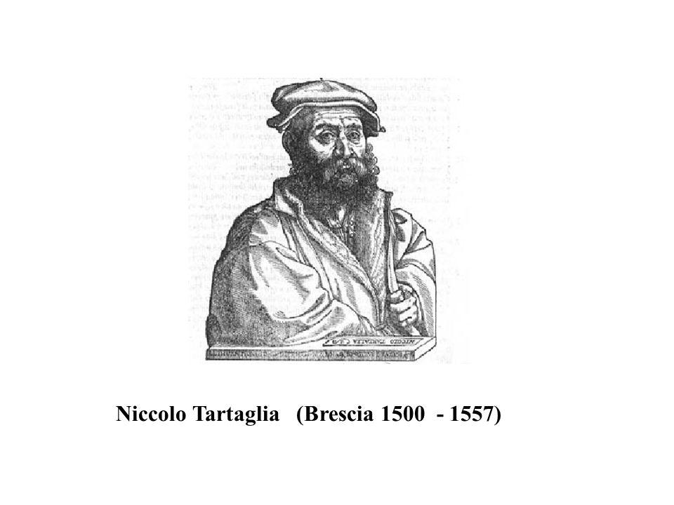 Niccolo Tartaglia (Brescia 1500 - 1557)