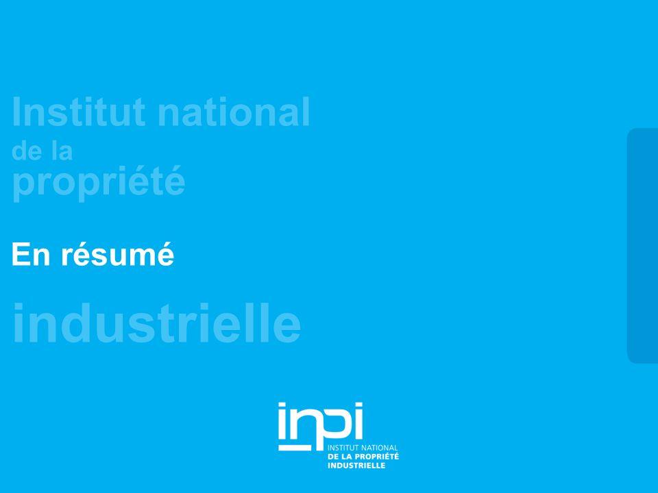industrielle Institut national de la propriété En résumé