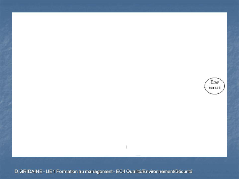 D.GRIDAINE - UE1 Formation au management - EC4 Qualité/Environnement/Sécurité