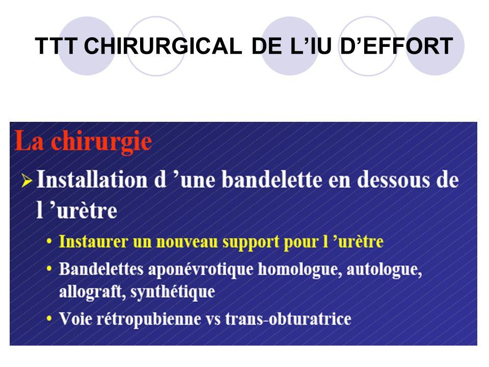 TTT CHIRURGICAL DE LIU DEFFORT