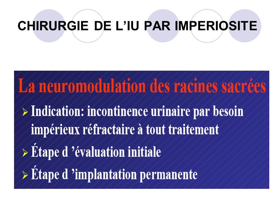 CHIRURGIE DE LIU PAR IMPERIOSITE
