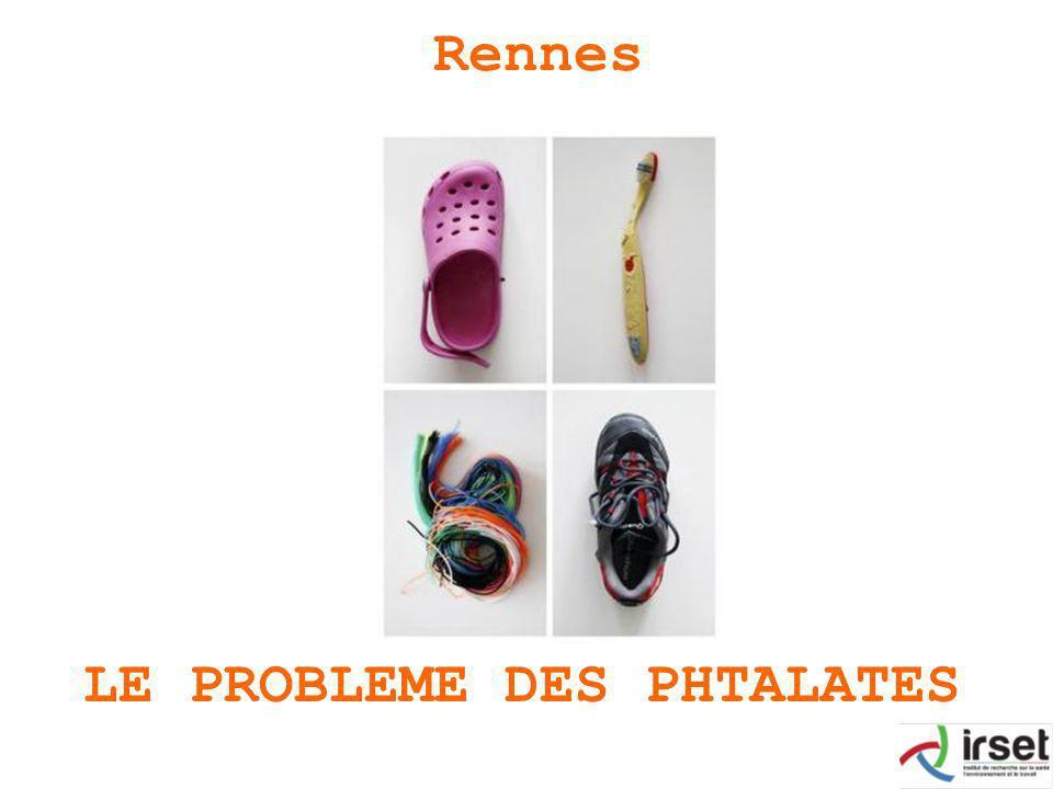 LE PROBLEME DES PHTALATES Rennes
