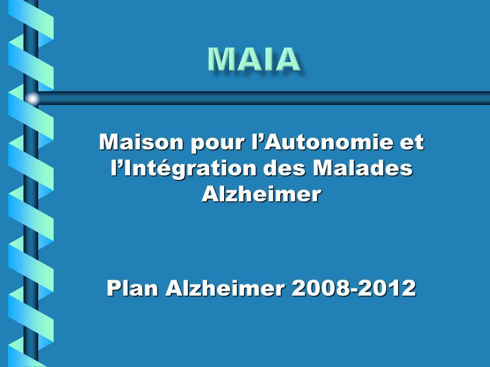 Maison pour lAutonomie et lIntégration des Malades Alzheimer Plan Alzheimer 2008-2012