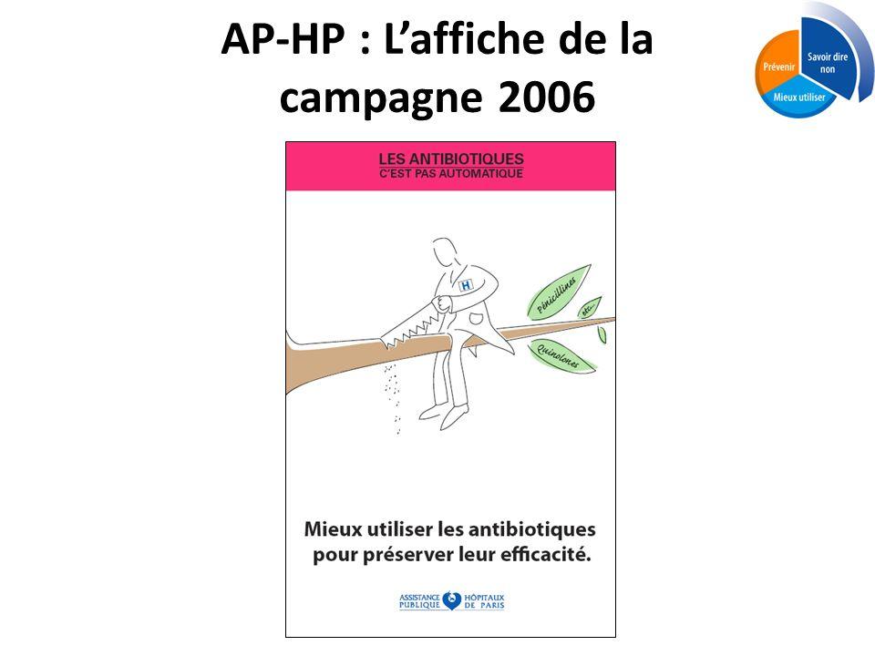 AP-HP : Laffiche de la campagne 2006